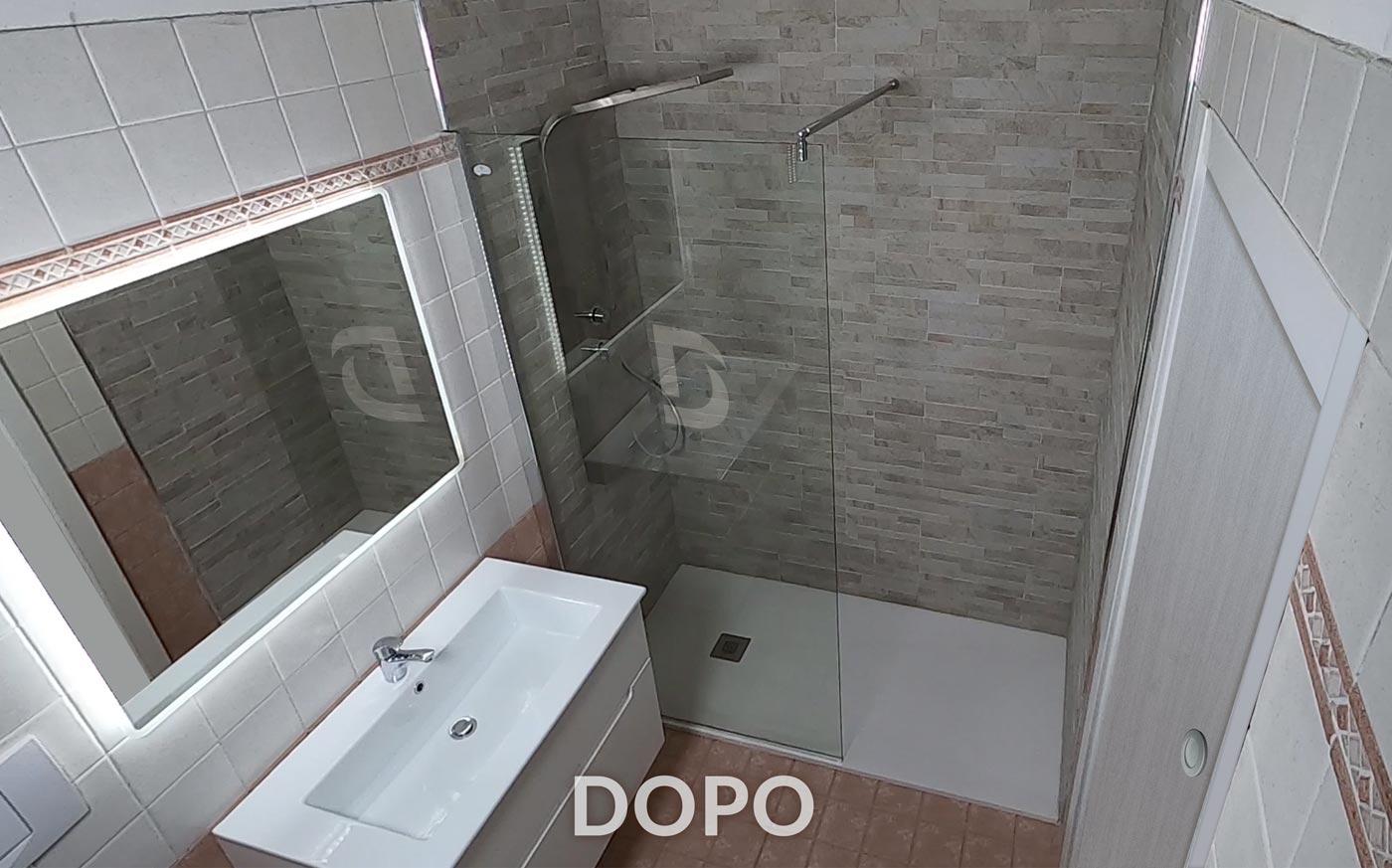 doccia dopo sostituzione con doccia david
