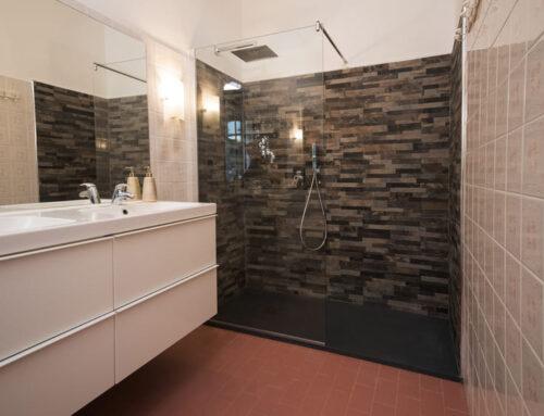 Box doccia in stile moderno e minimal
